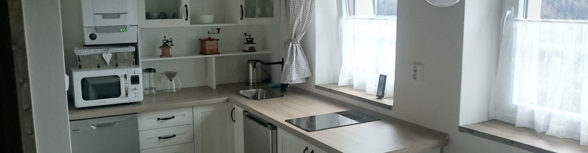 Apartmány - Kuchyň