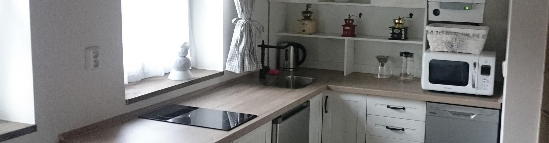 Apartmány - Kuchyň 2