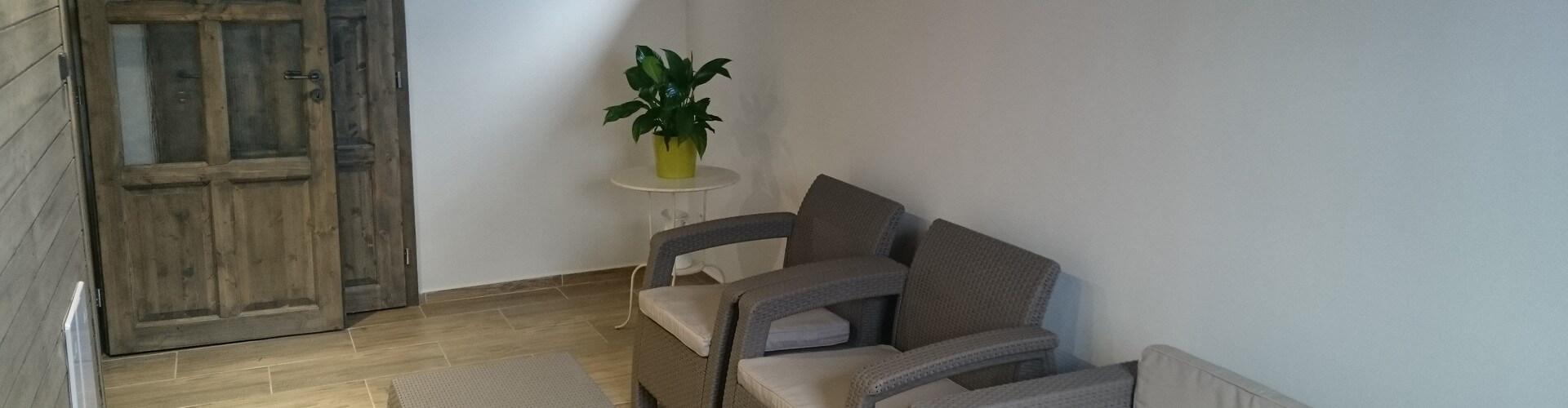 Apartmány - Společenská místnost